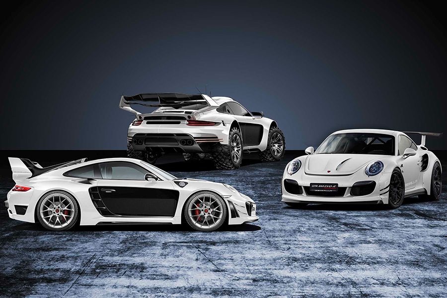 Rugged Porsche 911 Bodykit