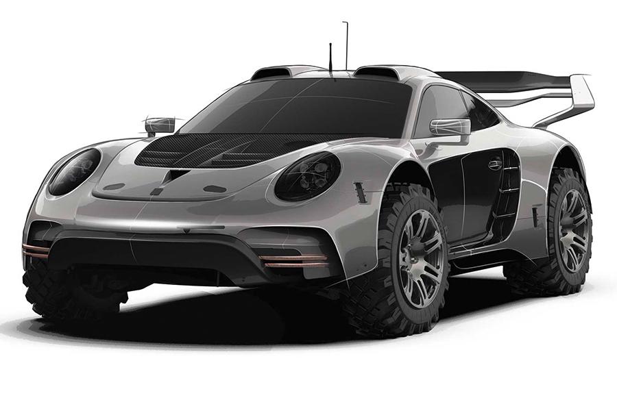 Rugged Porsche 911 Bodykit side view