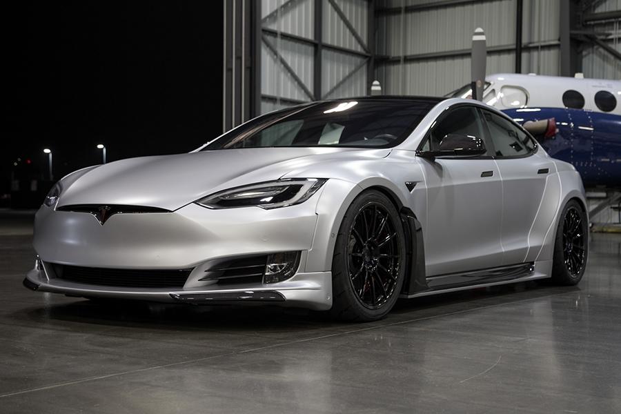 S-APEX Complete Vehicle Program to the Tesla Model S platform