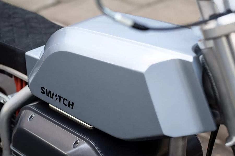 Switch Motorcycle eScrambler tank