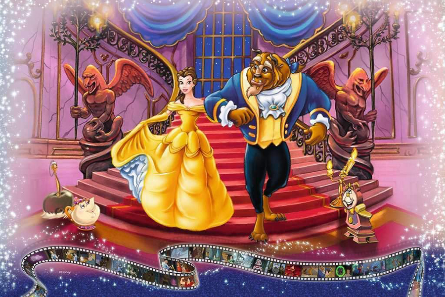 Largest Jigsaw Puzzle beauty and the beast