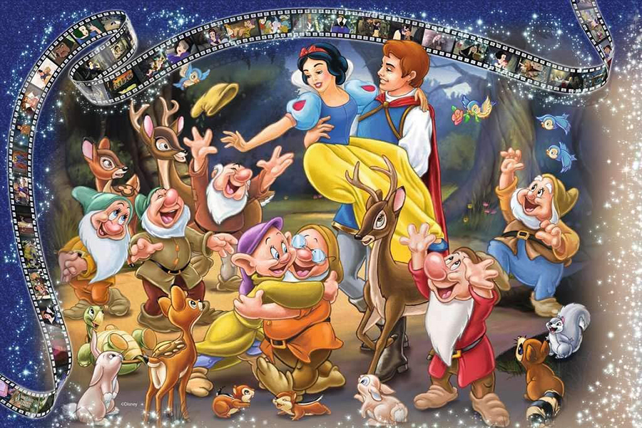 Largest Jigsaw Puzzle Snow white and the seven dwarf