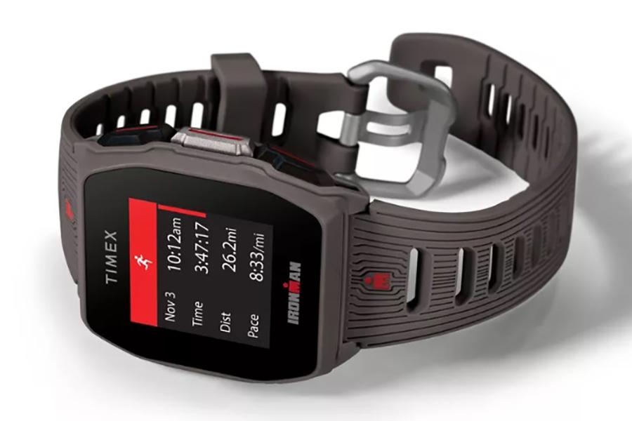 imex Ironman R300 GPS Watch side view
