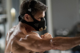 man wearing TRAININGMASK Elevation Training Mask 2.0