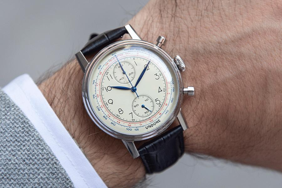 UNDONE Vintage Killy watch on wrist
