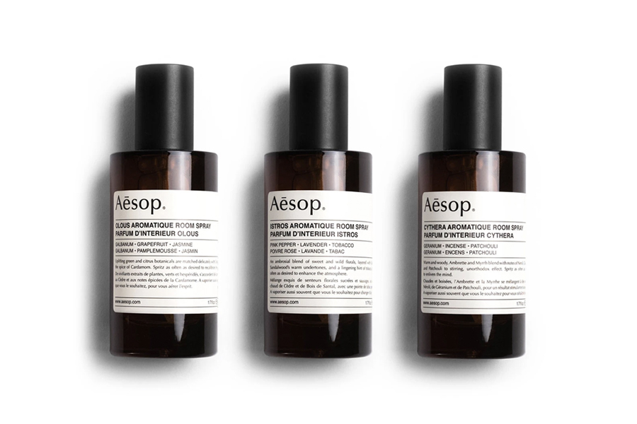 Uncrate Supple 2 - Aesop Room Spray Trio
