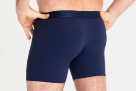Hips of a man in MO underwear