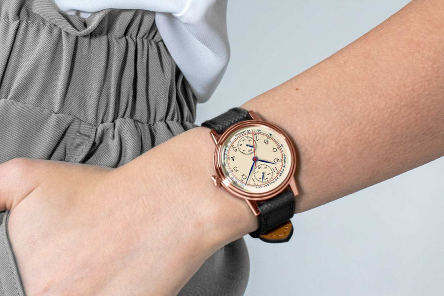UNDOONE Urban 34 – Killy watch on a woman's wrist