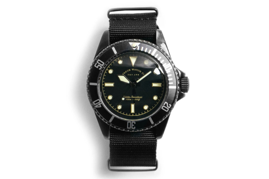 Vague Watch Co. Submariner Watch
