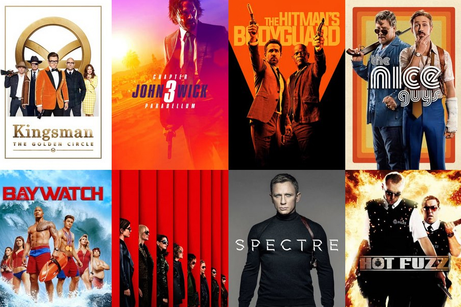 Posters of different movies