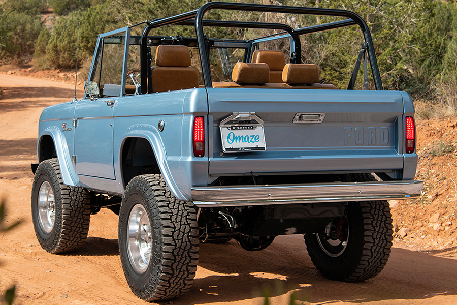 Custom Electric Ford Bronco back view