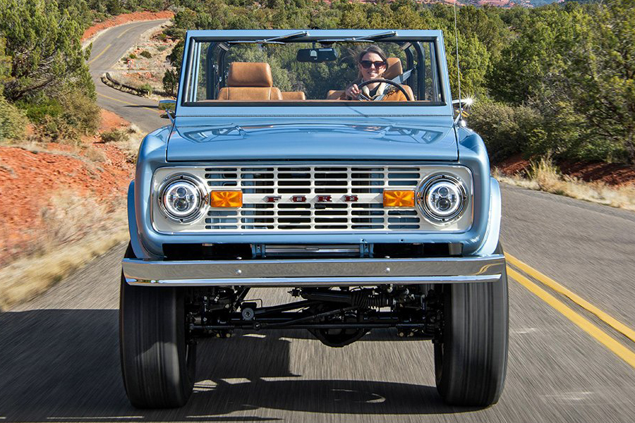 Custom Electric Ford Bronco front