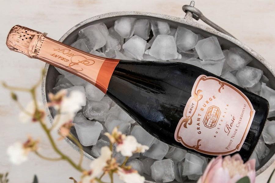 Wine and Chocolate pairings - Grant Burge Sparkling Rose