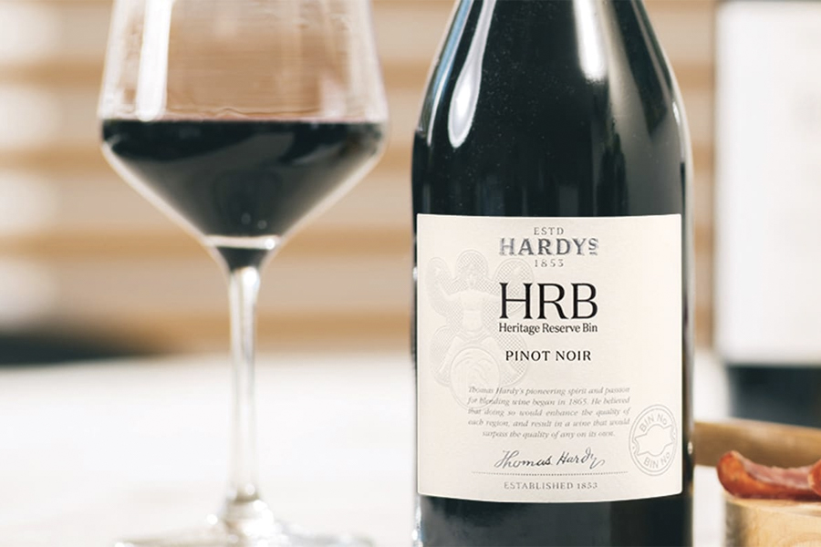 Wine and Chocolate pairings - Hardys' HRB Pinot Noir