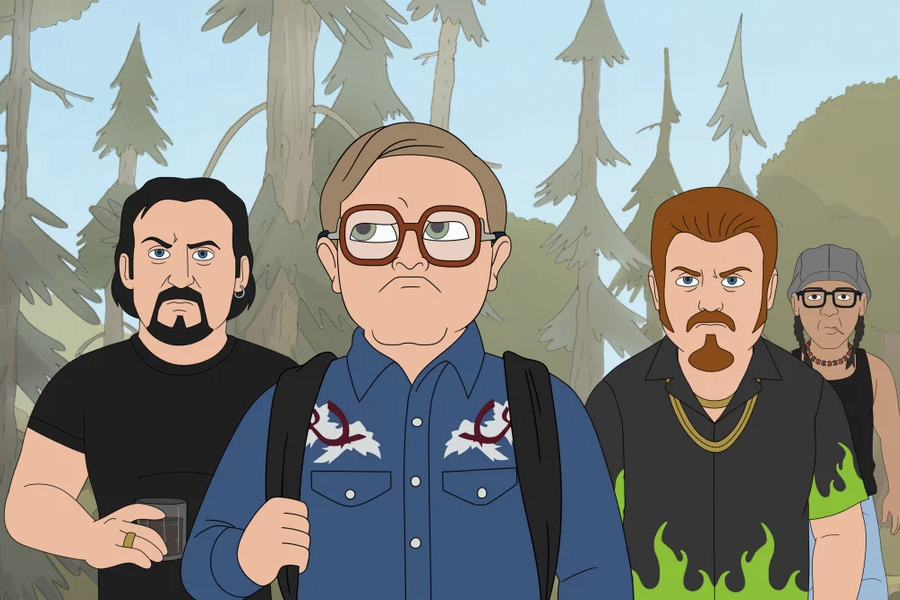 new to Netflix April - Trailer Park Boys- The Animated Series