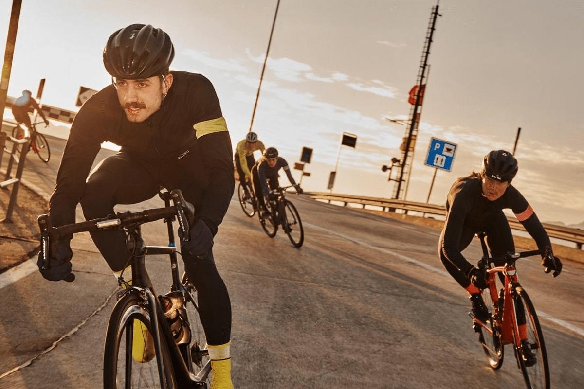 Rapha cycling jersey brand