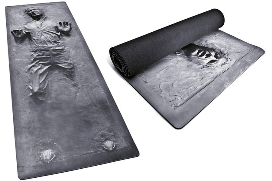 Stylish man cave ideas hans solo yoga mat 1