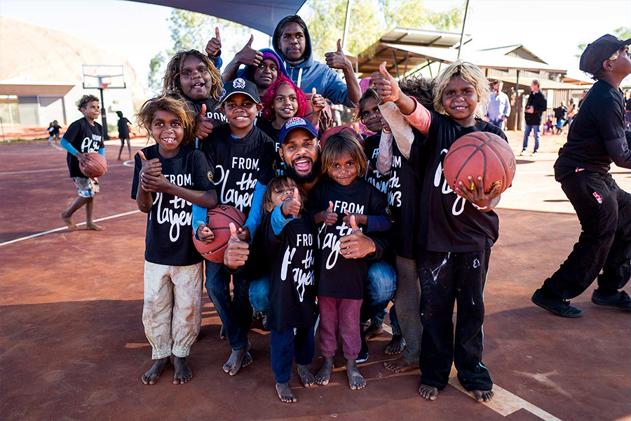 1 Patty Mills Launches Team Mills Foundation