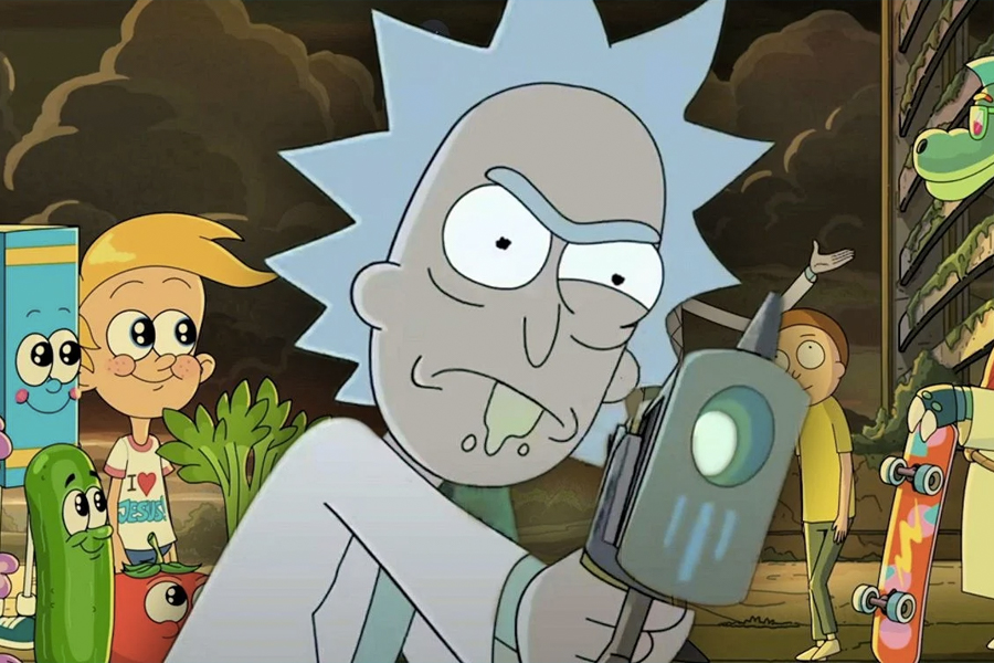 1 Rick and Morty One Episode per month