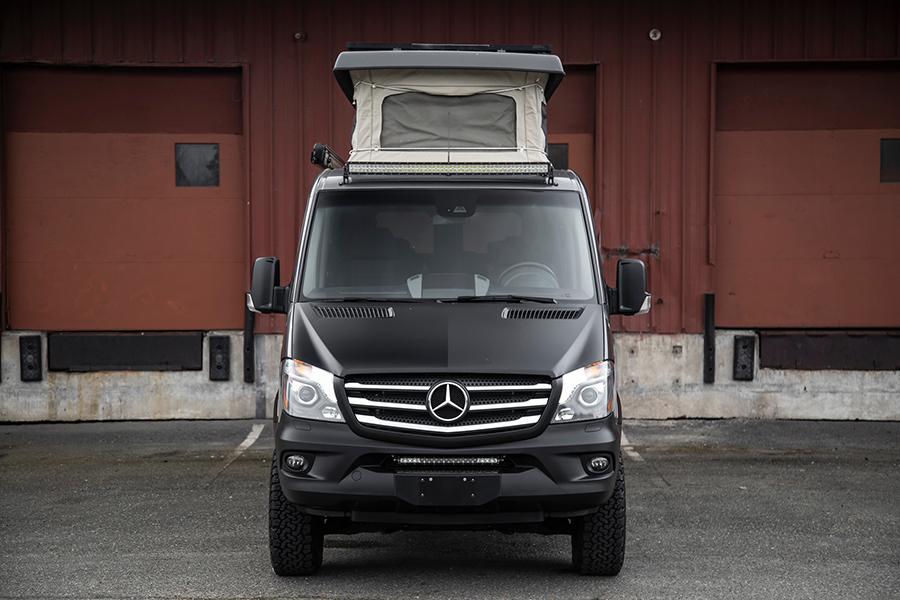 Mercedes-Benz Sprinter Camper Van front
