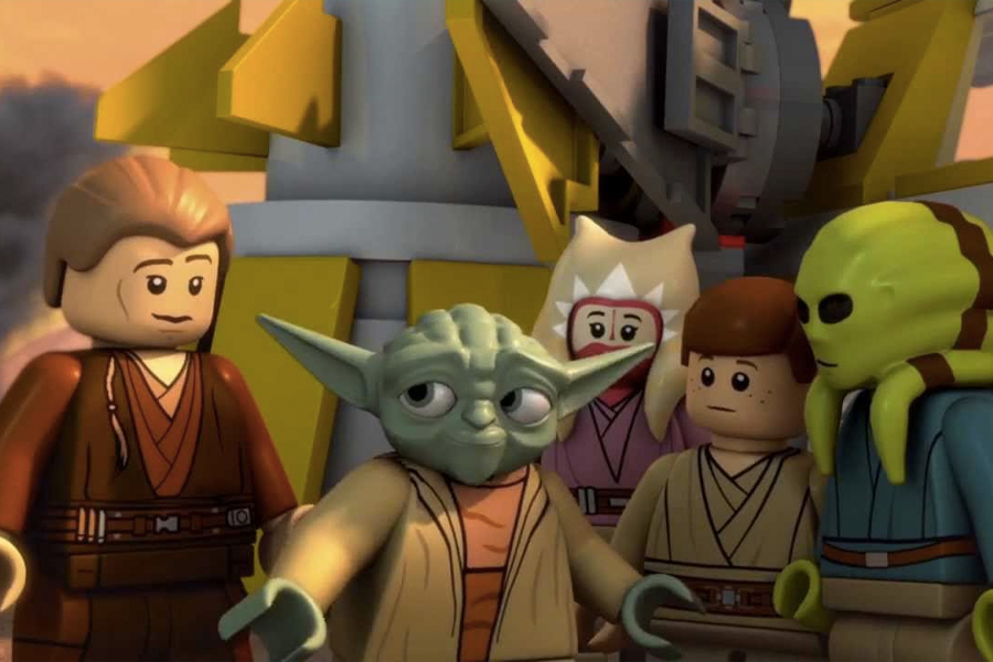 3 Star Wars movies in Order - Lego Star Wars- The Yoda Chronicles