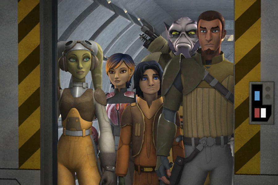 8 Star Wars in Order - Star Wars Rebels