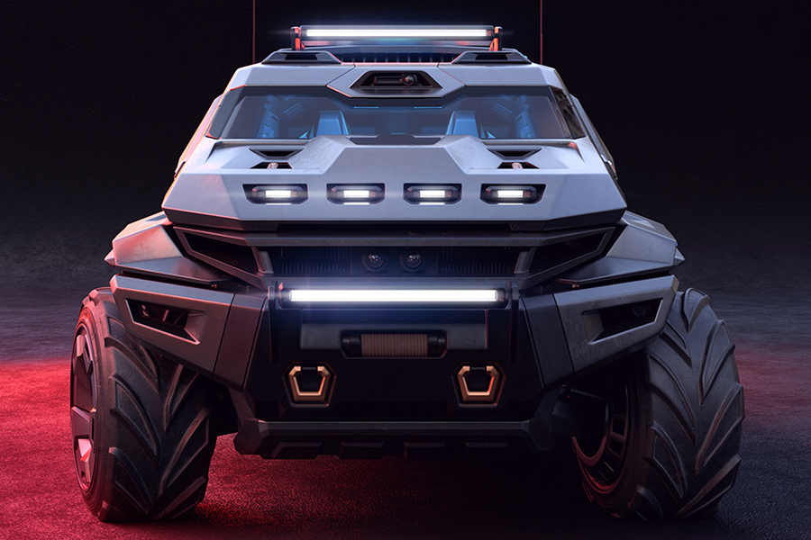 ArmorTruck Concept front