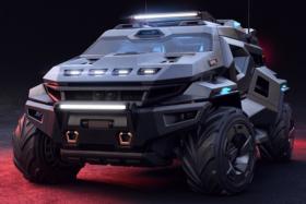 ArmorTruck Concept vehicle