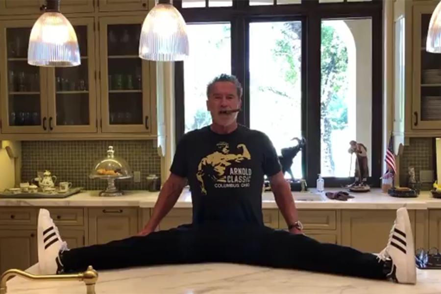 Arnie splits