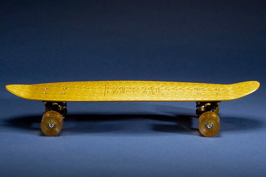 Banzai yellow Skateboard