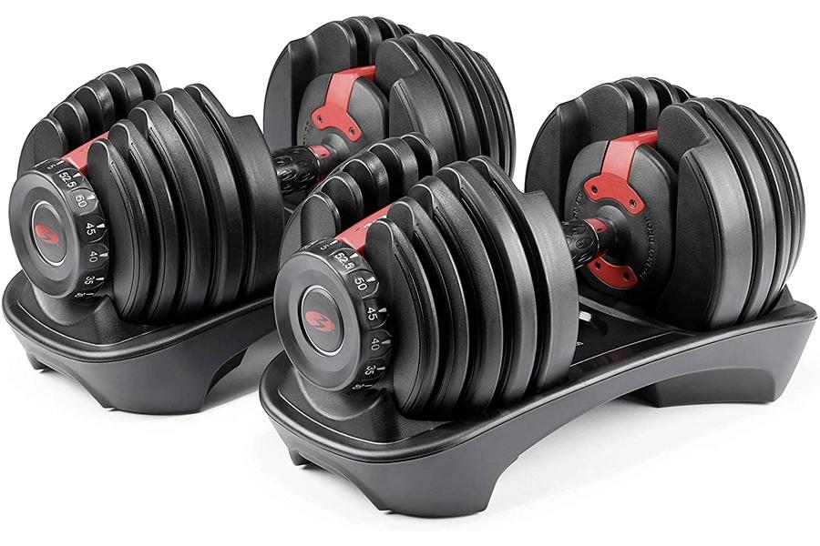 Best Dumbbells for home workout - Bowflex Adjustable Dumbbells