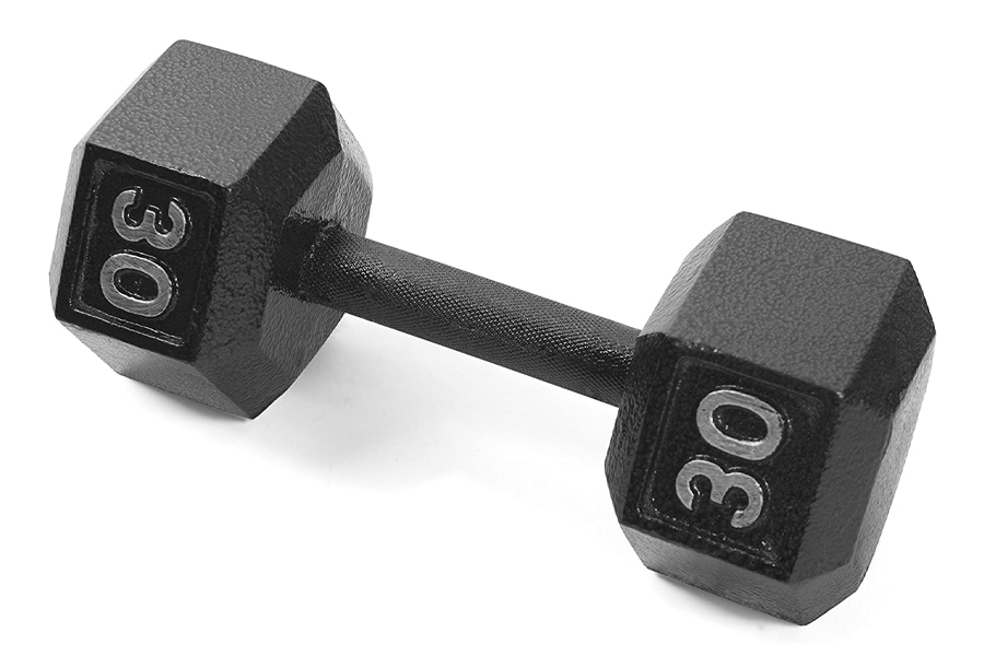 Best Dumbbells for home workout - CAP Barbell Cast Iron Hex Dumbbell