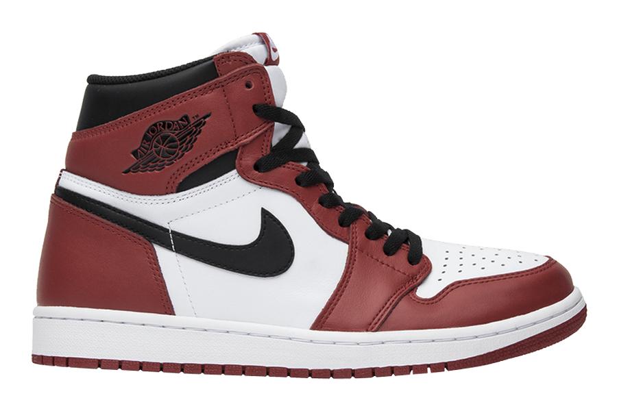 Best Jordans of all time - Air Jordan 1 Retro Chicago