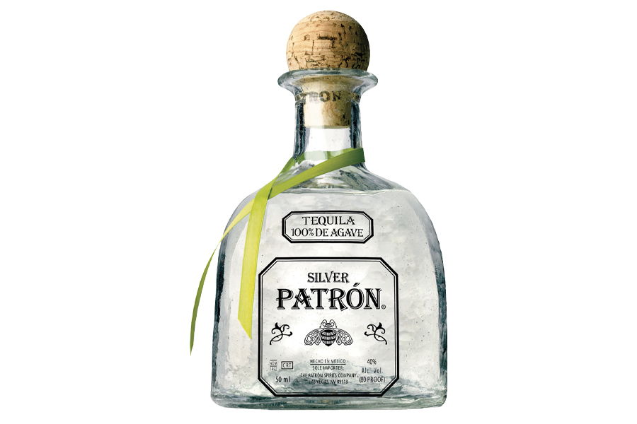 Best Tequila for Margaritas - Patron Silver