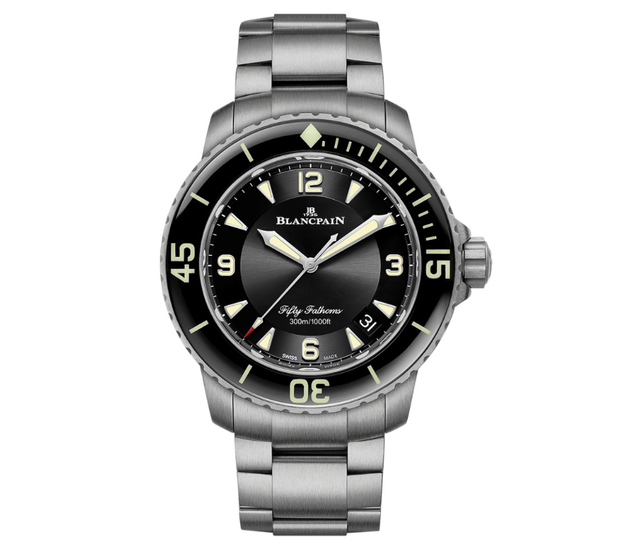 blancpain fifty fathoms watch