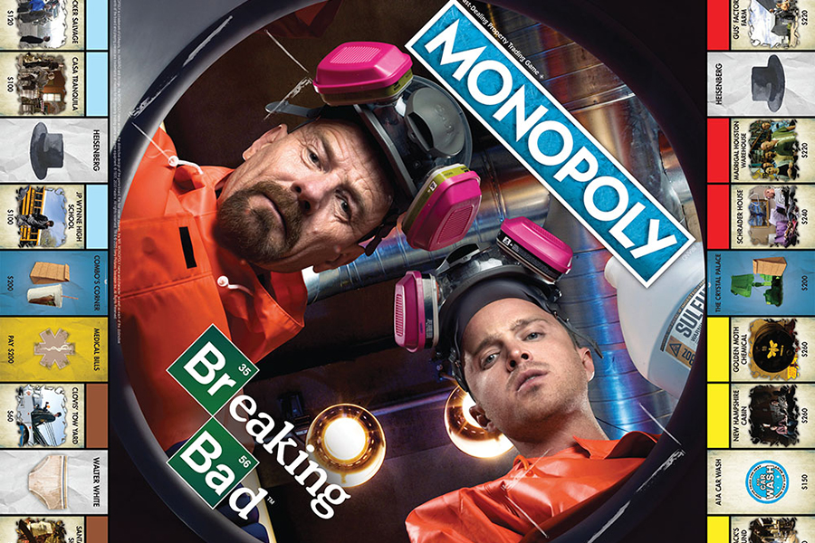 Breaking Bad Monopoly board game