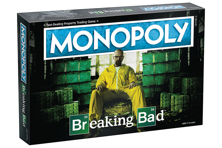 Breaking Bad Monopoly box