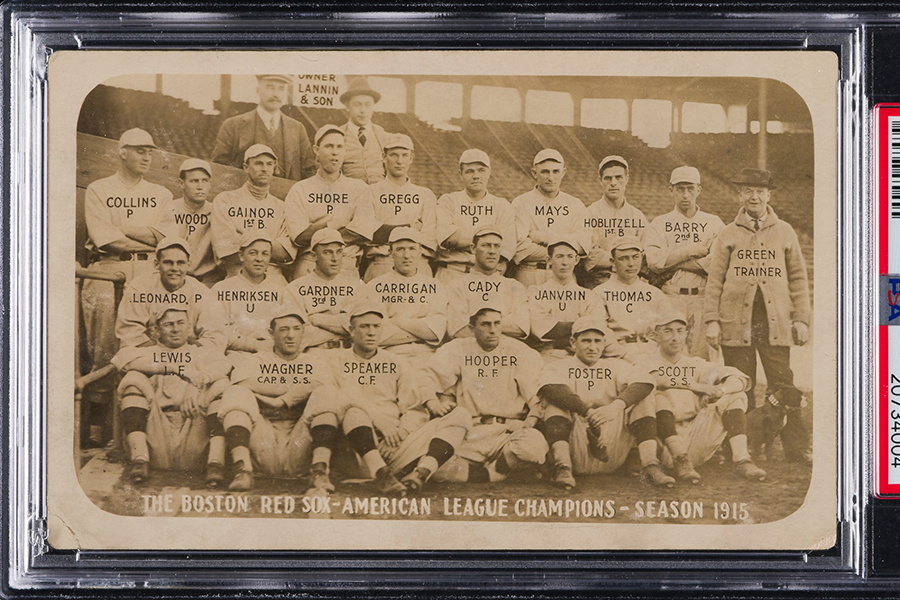 Rare Babe Ruth Ty Cobb Rookie Cards