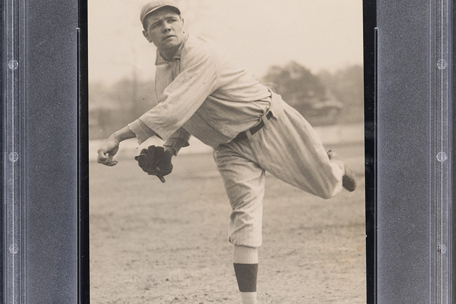 Rare Babe Ruth Ty Cobb Rookie Cards online auction