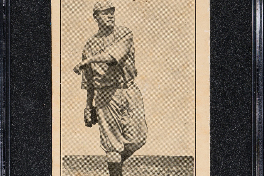 Rare Babe Ruth Ty Cobb Rookie elite Cards auction online