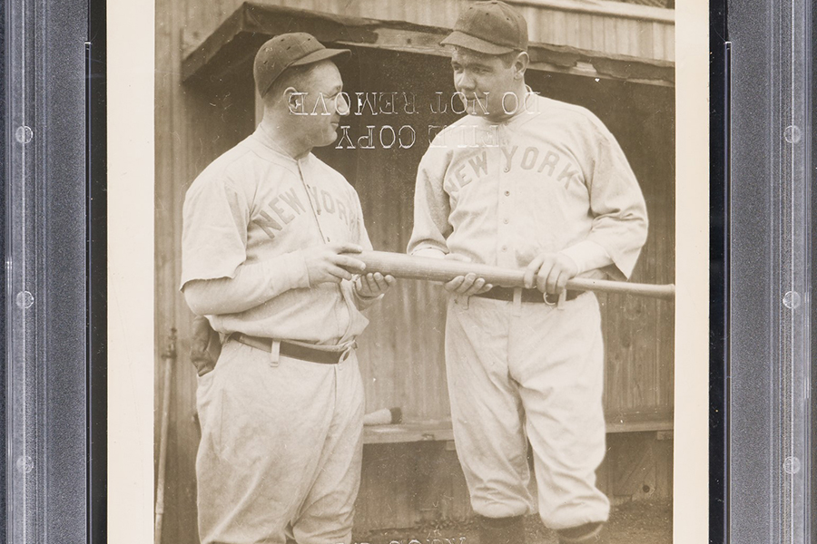 elite Rare Babe Ruth Ty Cobb Rookie Cards