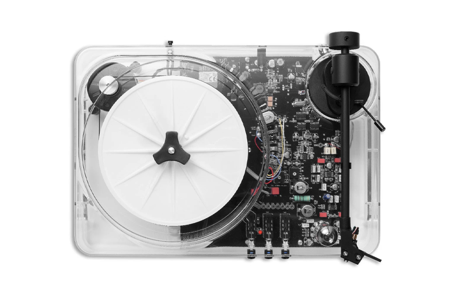 Gearbox Transparent Turntable