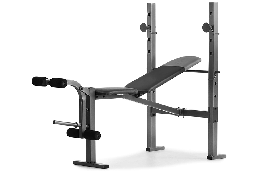 Gold's Gym XR 6.1 Weight Bench with 4-Roll Leg Developer