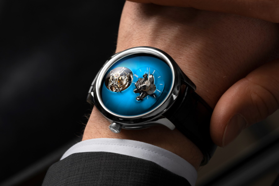 limited edition flying tourbillon watch