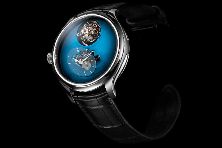swiss watchmaker flying tourbillon