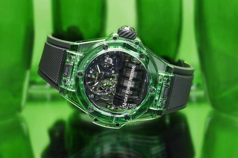 Hublot Sapphire Watch Collection green