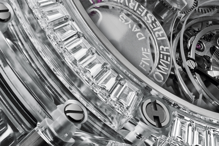 Hublot Sapphire Watch Collection detail