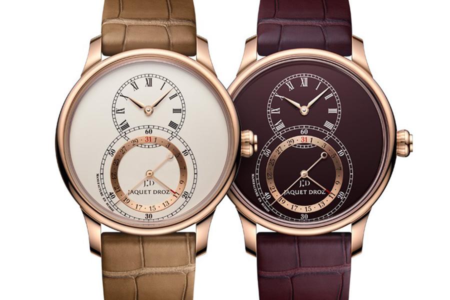 Jaquet Droz, Grande Seconde Quantième watch