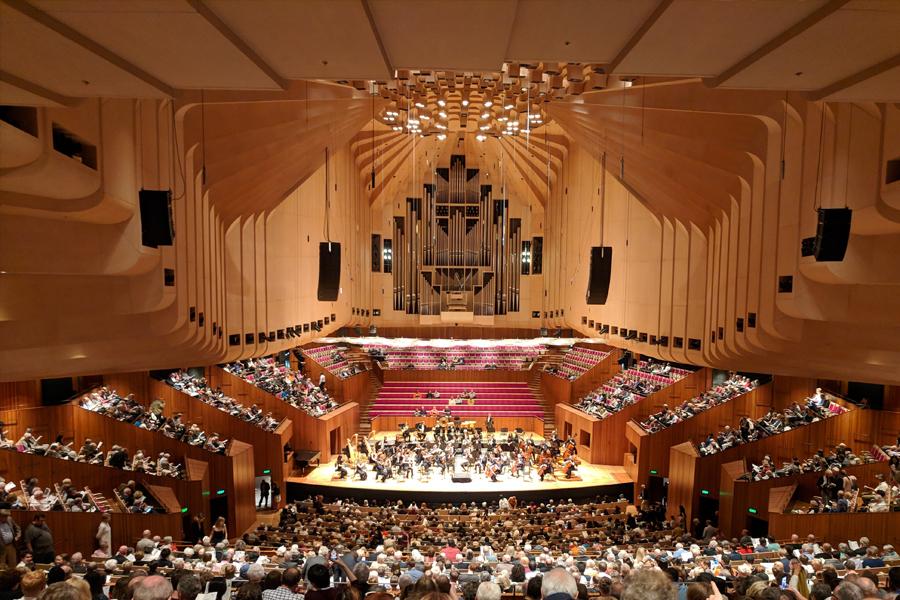 Opera house live music venue