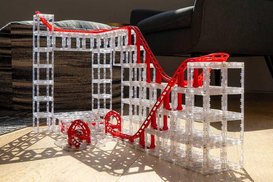 Magnetcubes Modular Magnetic Marble Blocks building set